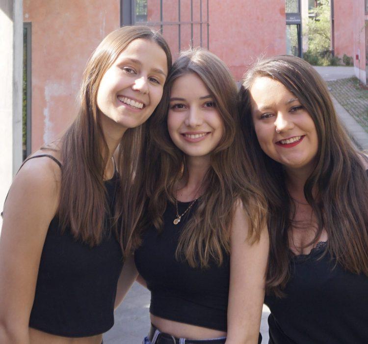 Sarah, Ece, Steffi